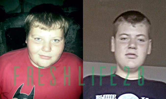 парень похудел