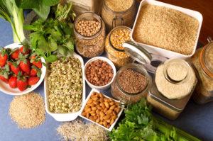 продукты для правильного питания для похудения клетчатка
